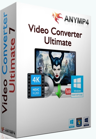 AnyMP4 Video Converter Ultimate 7.2.32 (2017) PC