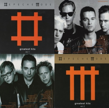 Depeche Mode - Star Mark Greatest Hits Vol.1 & Vol.2 (2009) FLAC