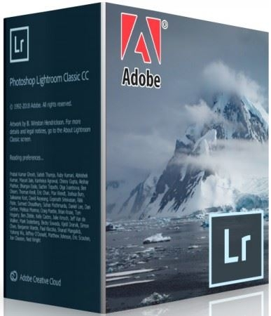 Adobe Photoshop Lightroom Classic CC 2019 8.3.0.10 [x64] (2018) PC