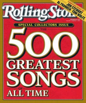 Сборник клипов - 500 лучших песен по версии журнала Rolling Stone / Rolling Stone magazine's 500 Greatest Songs of All Time (1948-2009) SATRip, TVRip, DVDRip
