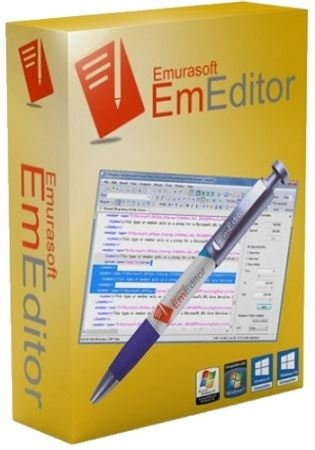 Emurasoft EmEditor Professional 18.9.8 Final (2019) PC