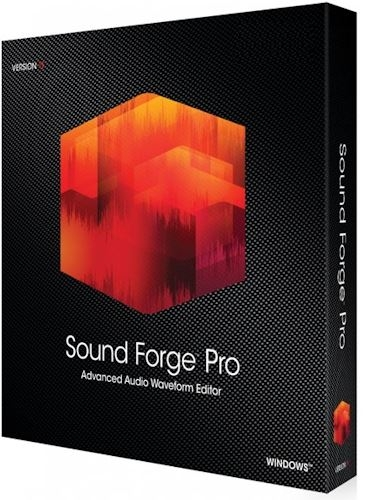 MAGIX Sound Forge Pro Suite 14.0 Build 45 (2020) PC