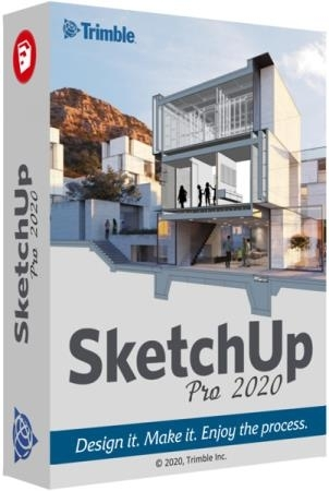 SketchUp Pro 2020 20.1.235 (2020) РС | RePack by KpoJIuK