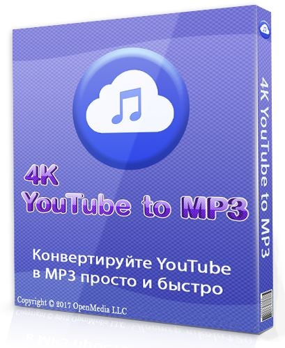 4K YouTube to MP3 3.12.2.3670 (2020) РС
