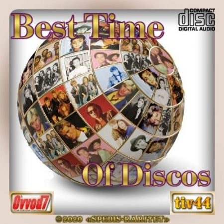 VA - Best time of discos [15 CD] (2020) MP3